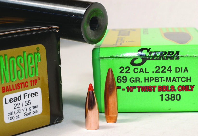 twist rate for long bullets in the 223 remington load data article